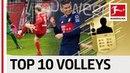 EA SPORTS FIFA 18 - Top 10 Best Volley Finishers: James, Reus, Lewandowski More