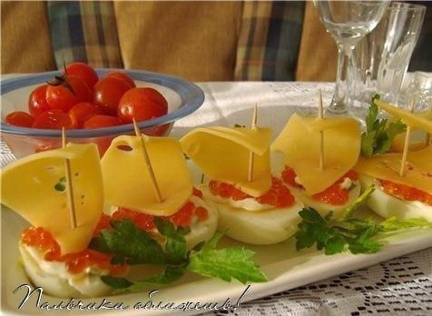 Холодные закуски из яиц MuZea8lGtis