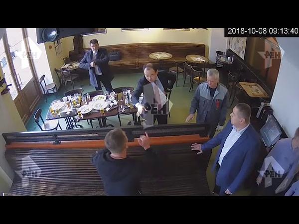 полное видео избиения чиновников Кокориным и Мамаевым
