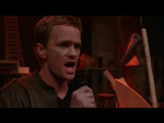 Glee - Dream On. Neil Patrick Harri. Barney Stinson.