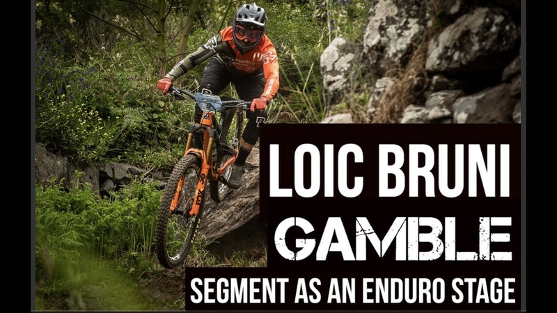 Loic Bruni's Gamble line is an EWS stage Madeira Portugal 2019