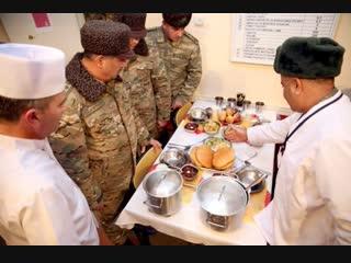 Министр обороны азербайджана закир гасанов встречает новый год в карабахе с солдатами. азербайджан azerbaycan баку baku карабах