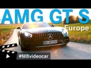 Mercedes-AMG GT S Road Trip in Europe MBvideocar