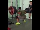 Константин Чекасин приседания 220 кг на 16 раз