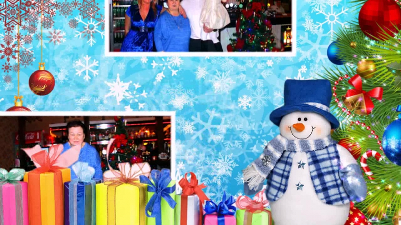 Слайд-Шоу Новый год в Светлогорске
