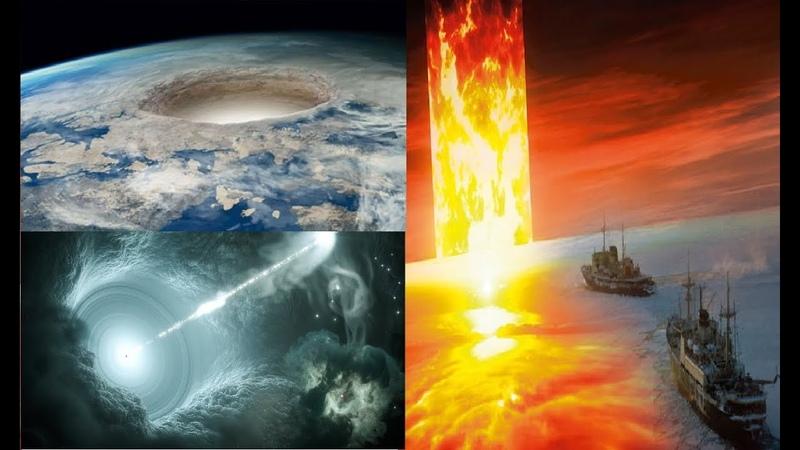Странности в Антарктиде или открывается вход в полую Землю?