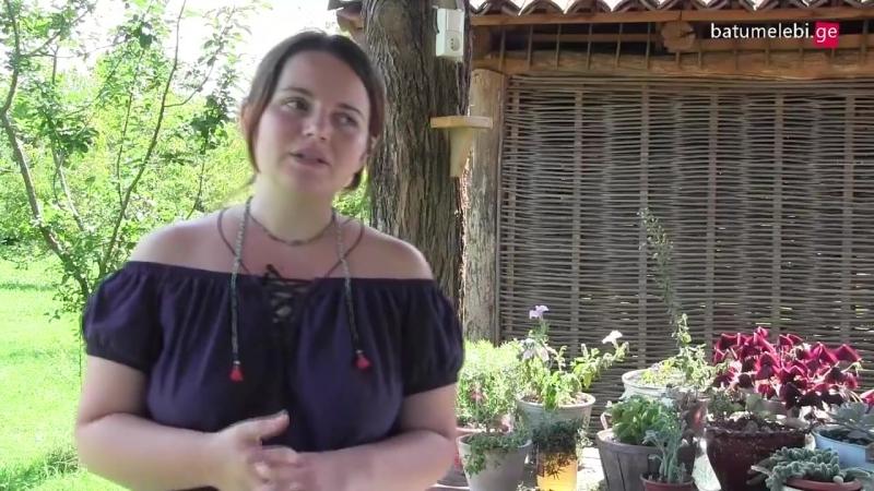 მეღვინე ქალი, რომლის მარანშიც ტურისტებს რუსულ ენაზე არ ემსახურებიან