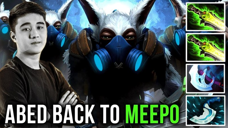 Abed is Back to Meepo Again EPIC Gameplay with 2x Ethereal Build Dota 2
