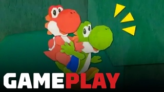 23 Minutes of New Yoshi's Crafted World Gameplay - Nintendo Treehouse Live