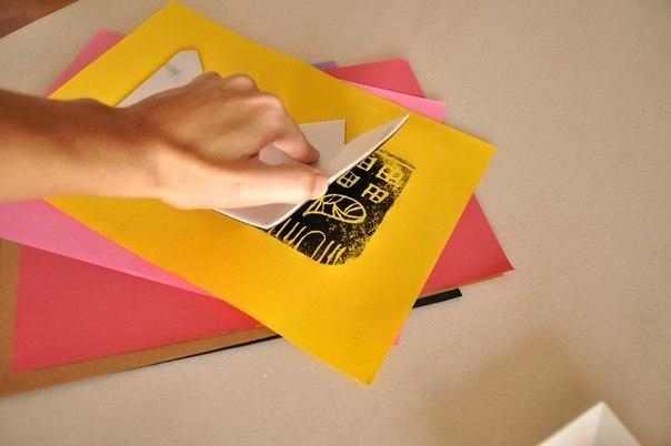 Как сделать гравюру в домашних условиях на бумаге