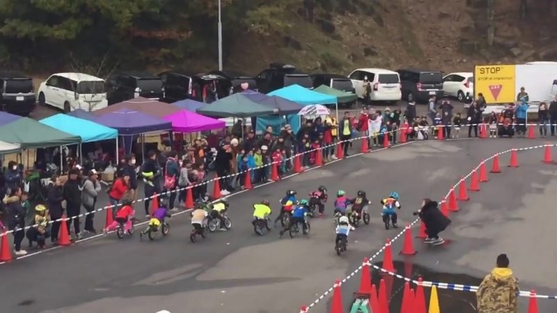 Wild Runner Cup 6th , 4 years old , Final race , Balance Bike racing in Japan