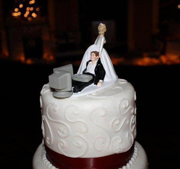 Прикол торт на свадьбу