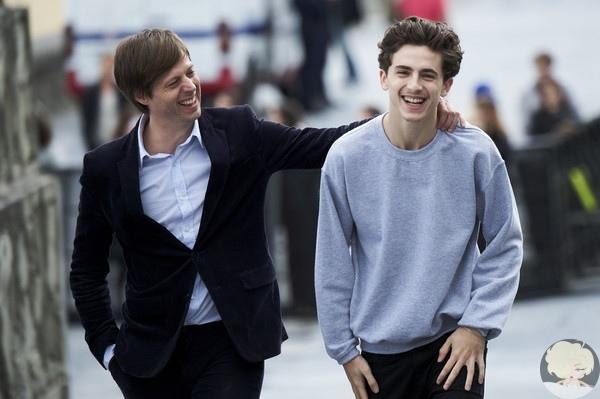 Тимоти Шаламе на фотоколле фильма «Красивый мальчик» в рамках «San Sebastian Film Festival», Испания