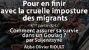 Pour en finir avec la cruelle imposture des migrants (4/4) - Abbé Olivier Rioult
