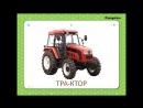 Учебные Карточки для детей №1 Домашние животные Транспорт Музыкальные инстр