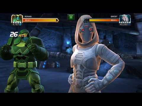 Ghost All Special Attacks and Abilities Marvel contest of champions