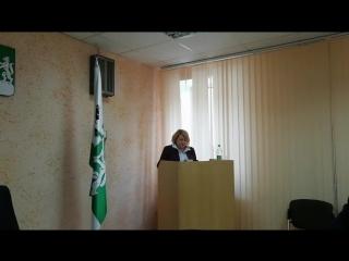 Отчёт главы Ревды за 2017 год. Запись трансляции