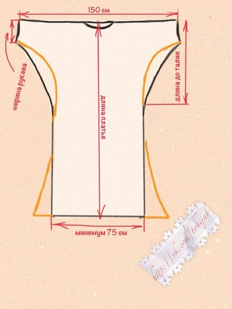 Как сшить трикотажное платье своими руками выкройки