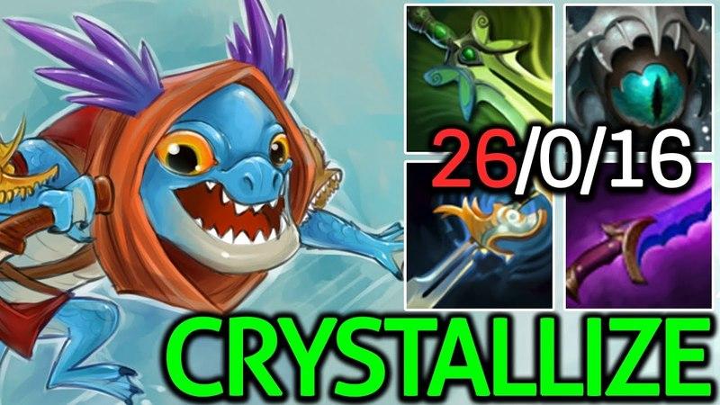 Crystallize [Slark] Pro Player 26 Kills 0 Death 7.15 Dota 2