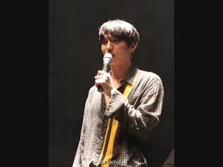 [Fancam] 181114 VIXX Leo (birthday greetings) @ VIXX LR 1st CONCERT [ECLIPSE] in MOSCOW