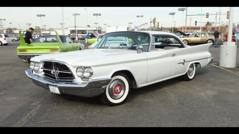 1960 Chrysler 300F Hardtop in White Paint on My Car Story with Lou Costabile