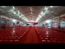 15m wide tent construction