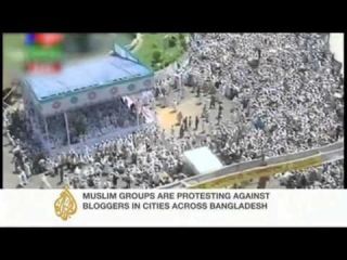 Bangladesh protesters demand blasphemy law    April 6,2013: AlJazeera News   