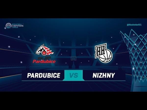 LIVE 🔴 - JIP Pardubice v Nizhny Novgorod - Qualif. Rd. 3 - Basketball Champions League 2018-19