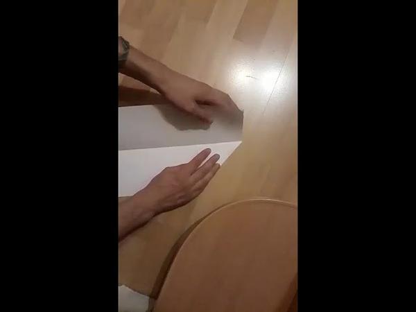 How it's made paper aeroplane Курс Челендж Школа Марины Светлаковой