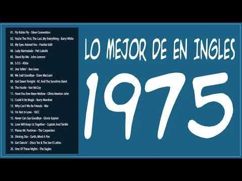 Ⓗ Lo Mejor de 1975 en Ingles vale la pena escuchar - Viejitas pero bonitas canciones romanticas 70s