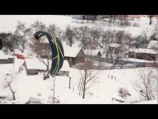 Kiteworldru, полеты на кайтах под Калугой.