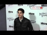 Glee Darren Criss arrives at Mistaken For Strangers Los Angeles premiere Redcarpet