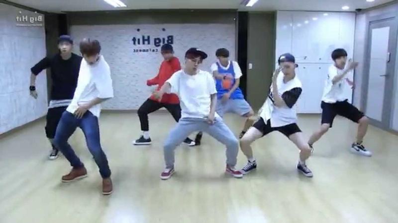 BTS 'Dope' mirrored Dance Practice