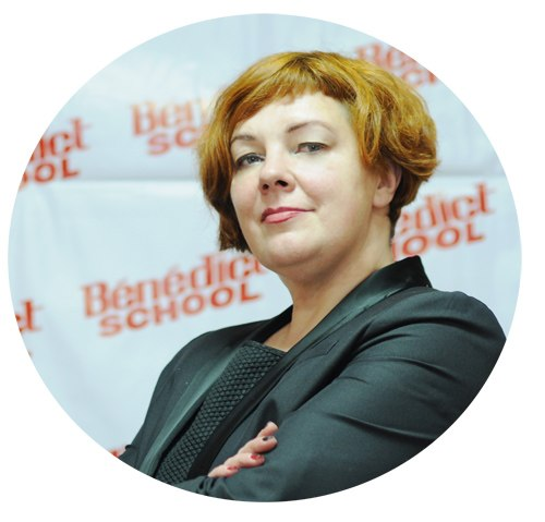Светлана Шабалина - директор Benedict School в Новосибирске