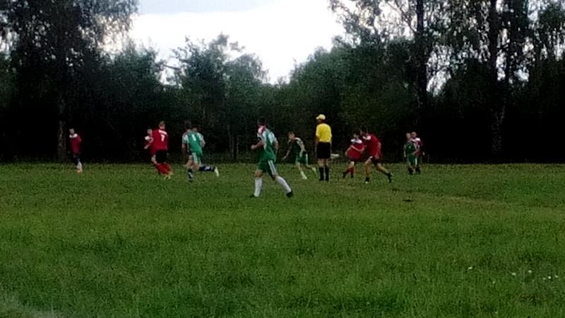 Футбол.Перковичи - Хомск 15.07.2018 г