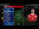 2018 FIFA World Cup / Play-off / 1/4 fin / Russia - Croatia 07.07.2018 (1 тайм)