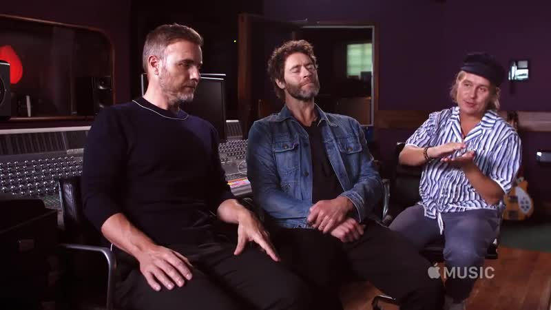 Take That - ONLY 7 days to go! Head over to @AppleMusic now to watch exclusive content for The Makin