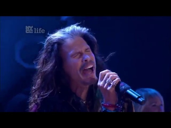 Steven Tyler from Aerosmith Cryin` Front And Center 2016