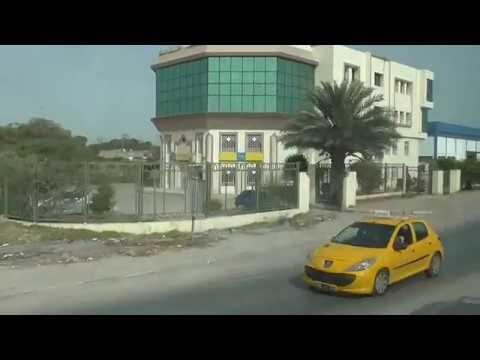 Тунис из окна автобуса Едем на экскурсию Три столицы Карфаген Тунис Сиди Бу Саид