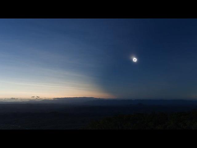 The Sweeping Shadow - Total Solar Eclipse, Nov 14 2012,The Granite, FNQ, Australia.