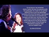 Gloria Estefan &amp Aretha Franklin - Coming Out Of The Dark (Live from Duets TV Special 1993)