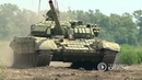 "Ведущая за рычагами танка Т-72. 16.08.2018, ""В казарме"""