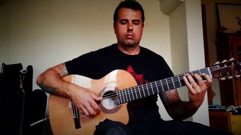 Inspiracion (Gipsy Kings) Solo Guitar Flamenco Rumba - Ben Woods