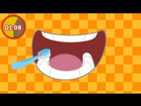How to Brush Your Teeth- Fun 2-Minute Timer - I Love to Learn- Music for Kids, Preschool Kids Songs