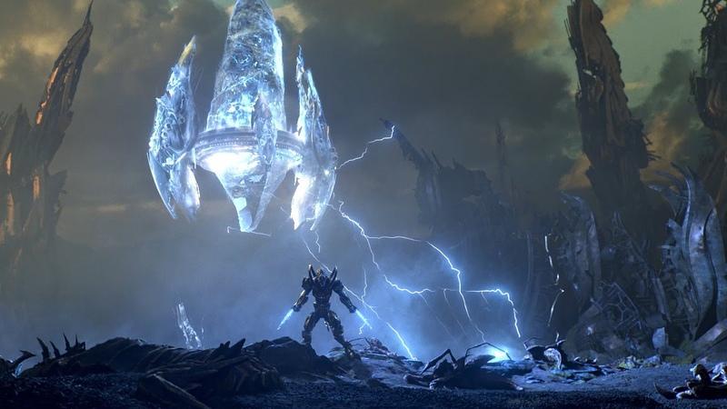 Вступительный ролик StarCraft II Legacy of the Void (RU)