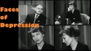 1959 Real Interviews with Depressed Patients by Psychiatrist. Faces of Depression