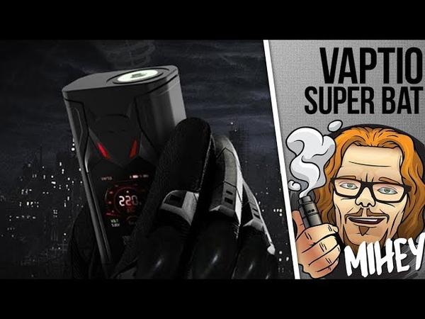 Vaptio Super Bat 220W TC Kit. Где детонатор! Розыгрыш! 🎷🎻🎹🎸