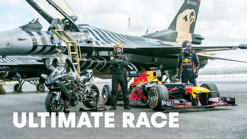 Head-To-Head With The World's Fastest Vehicles | Ultimate Race