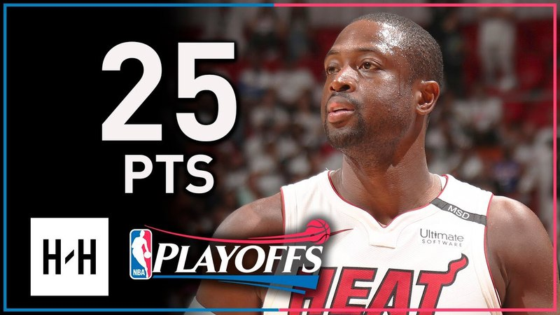 Dwyane Wade Full Game 4 Highlights Heat vs 76ers 2018 Playoffs - 25 Points off the Bench!
