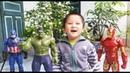 Gia Huy trò chơi Siêu nhân Người sắt, Đội trưởng mỹ, Người khổng lồ xanh Hulk, 4K